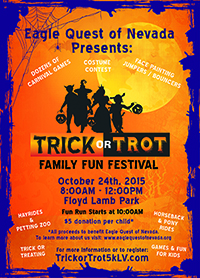 Trick or Trot Run Flyer